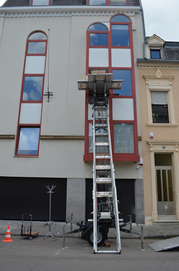 Removal Lift Hire In Luxembourg Furniture Hoist Rental