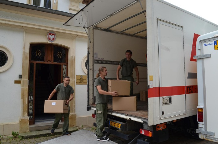 office move Luxembourg